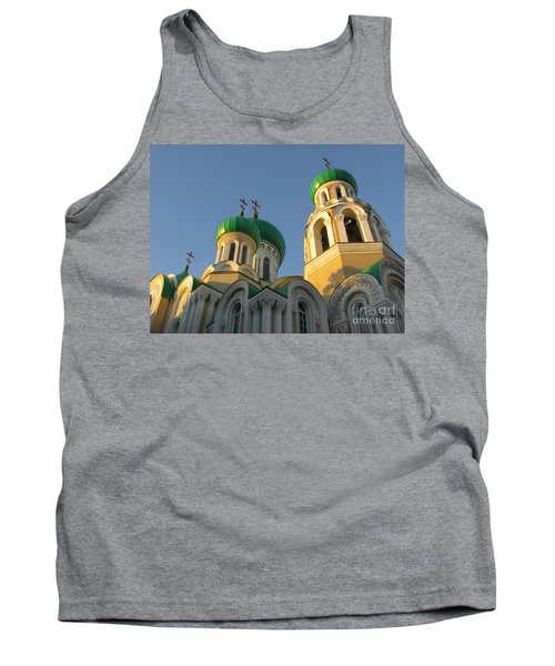 Orthodox Church Of Sts Michael And Constantine- Vilnius Lithuania Tank Top