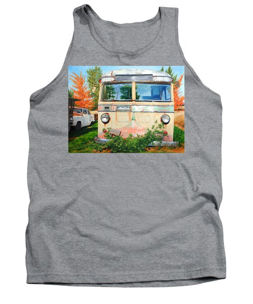 Out Where The Buses Don't Run Tank Top