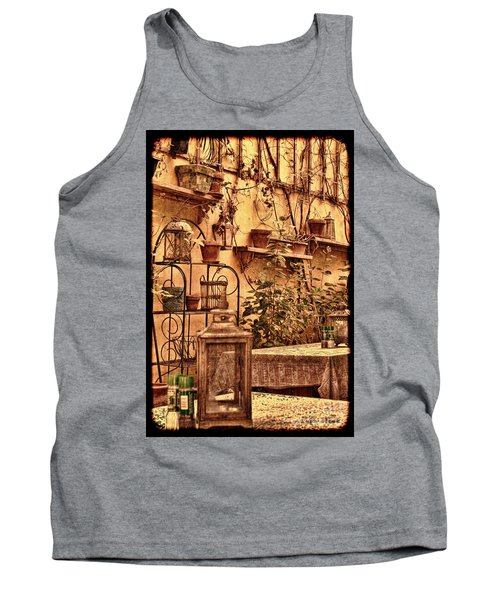 Outside Tables Tank Top