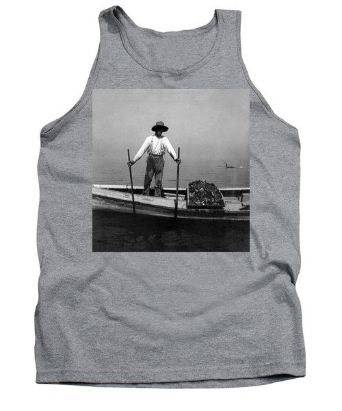 Oyster Fishing On The Chesapeake Bay - Maryland - C 1905 Tank Top by International  Images