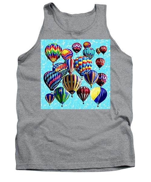 Paint The Sky Tank Top