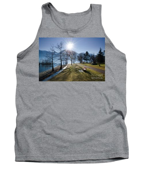 Park On The Lakefront Tank Top