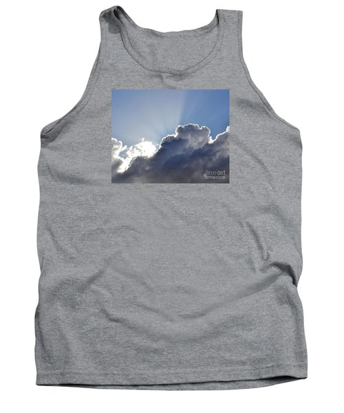 Partly Cloudy Tank Top