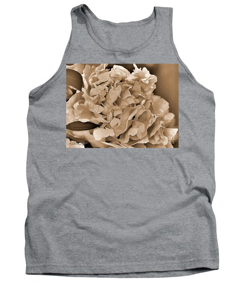 Peony Named Shirley Temple Tank Top by J McCombie