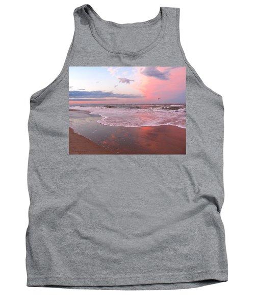 Pink Beach Tank Top