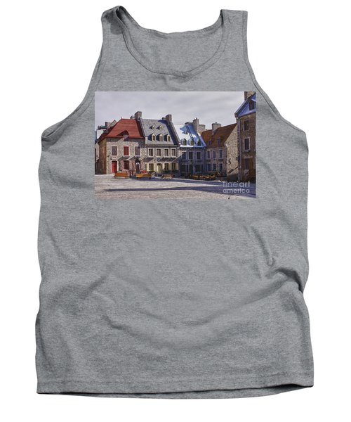 Tank Top featuring the photograph Place Royale by Eunice Gibb