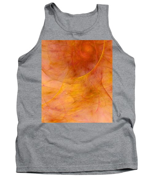 Poetic Emotions Abstract Expressionism Tank Top