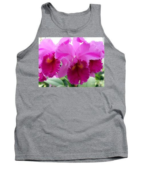 Tank Top featuring the photograph Purple Explosion by Debbie Hart
