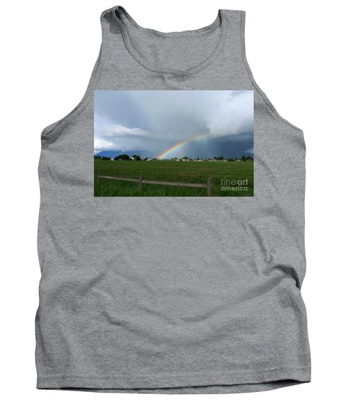 Rainbow Before The Storm Tank Top