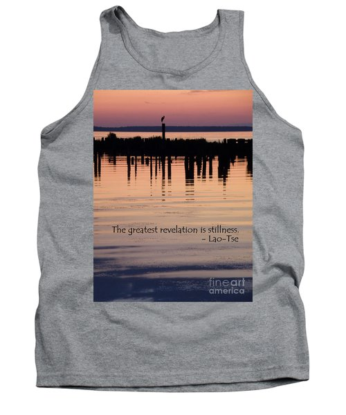Tank Top featuring the photograph Revelation by Lainie Wrightson
