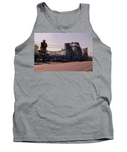 Tank Top featuring the photograph Ride It Cowboy by Stacy C Bottoms