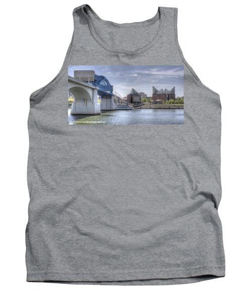 Riverfront Tank Top by David Troxel
