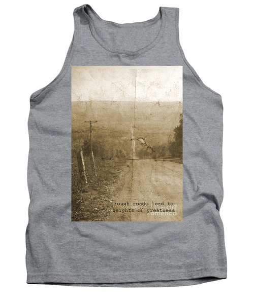 Road Not Traveled  Tank Top