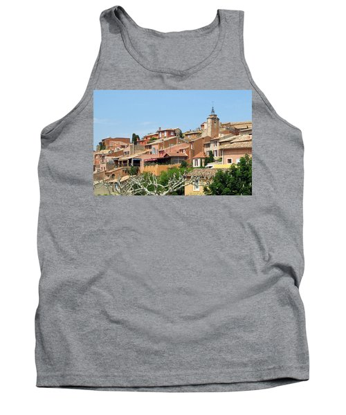 Tank Top featuring the photograph Roussillon In Provence by Carla Parris