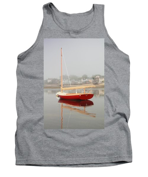 Ruby Red Catboat Tank Top by Roupen  Baker
