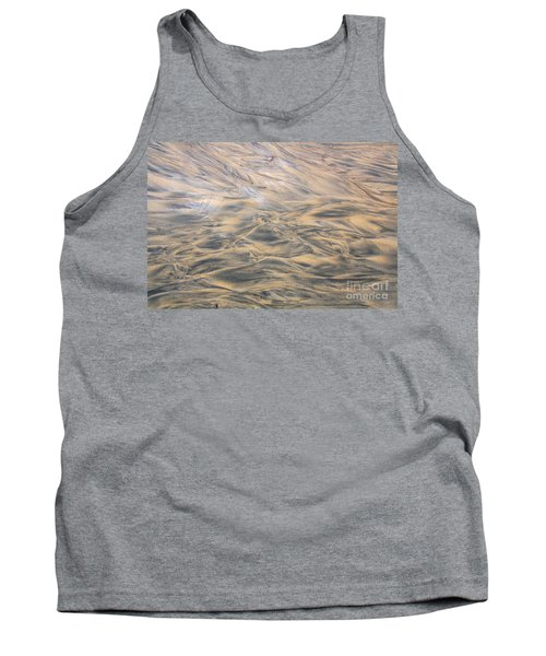 Tank Top featuring the photograph Sand Patterns by Nareeta Martin