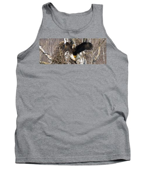 Tank Top featuring the photograph Screaming Eagle  by Randall Branham