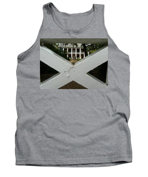 Tank Top featuring the photograph Shadows X On The Teche  by Rdr Creative