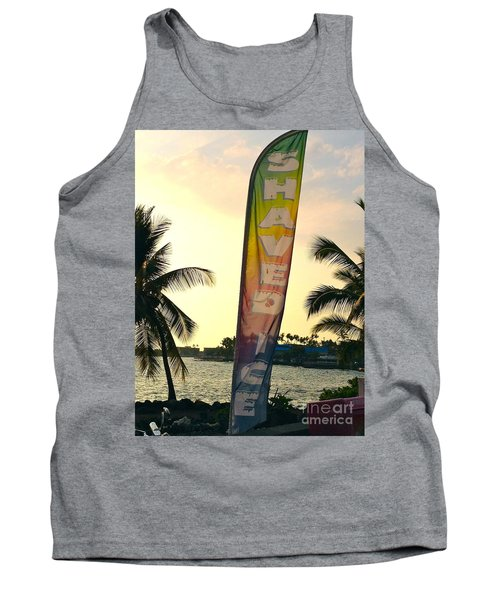 Tank Top featuring the photograph Shaved Ice by Beth Saffer