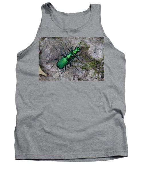 Six-spotted Tiger Beetles Copulating Tank Top