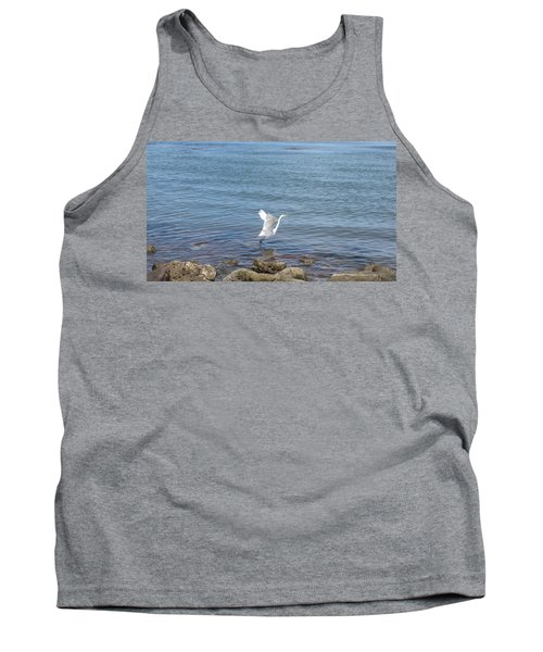 Tank Top featuring the photograph Snowy Egret by Marilyn Wilson
