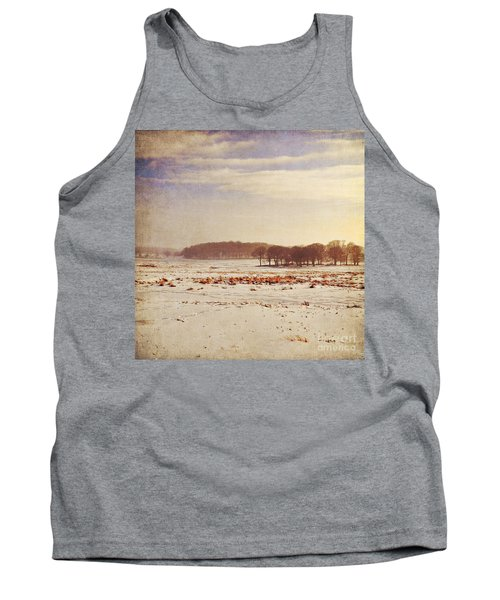 Snowy Landscape Tank Top by Lyn Randle