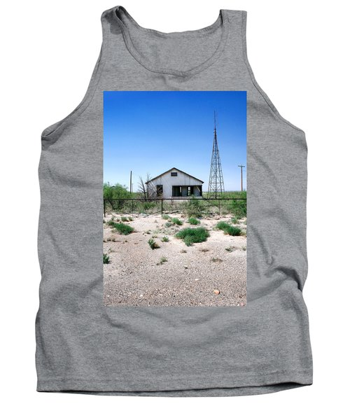 Tank Top featuring the photograph Somewhere On The Old Pecos Highway Number 5 by Lon Casler Bixby