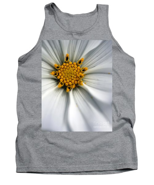 Tank Top featuring the photograph Sonata Cosmos White by Henrik Lehnerer