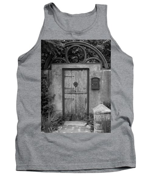 Spanish Renaissance Courtyard Door Tank Top