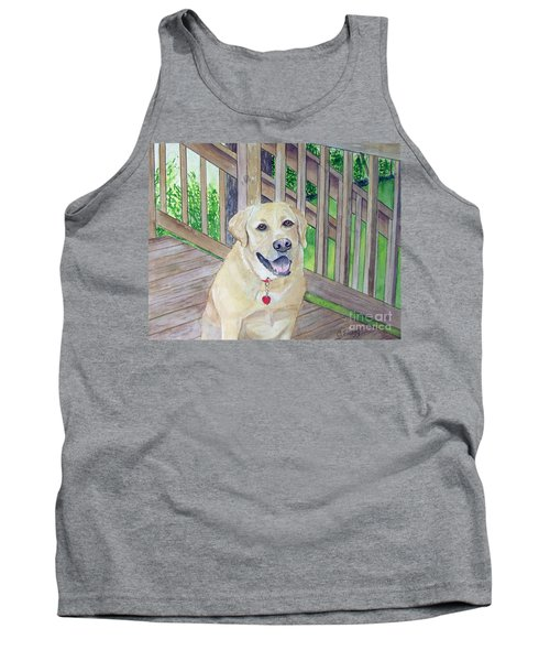Spencer On Porch Tank Top