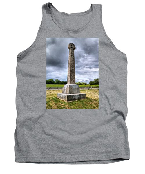 Tank Top featuring the photograph St Augustines Cross by Steve Taylor