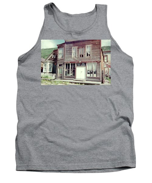 Tank Top featuring the photograph Stark Bros Store by Bonfire Photography