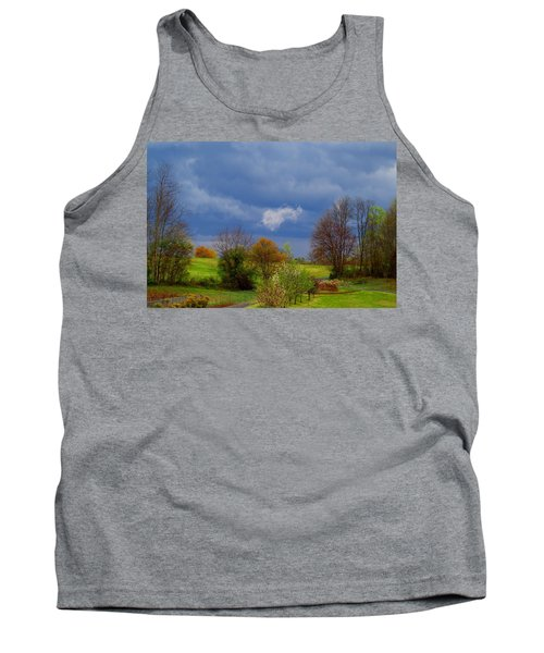 Tank Top featuring the photograph Storm Cell by Kathryn Meyer