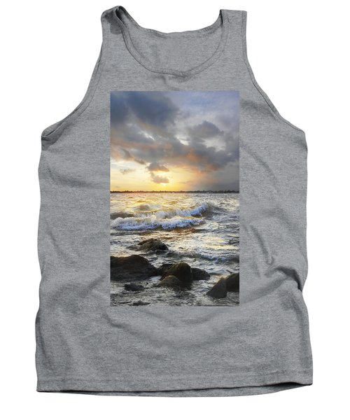 Storm Waves Tank Top by Francesa Miller