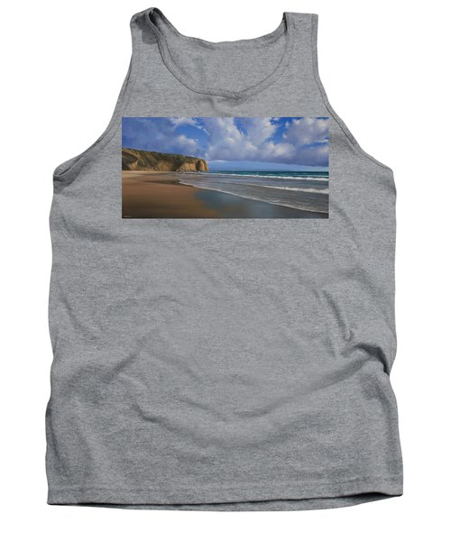 Strands Beach Dana Point Painting Tank Top