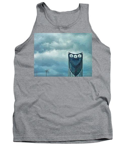 Strata Tower In London Tank Top by Steve Taylor