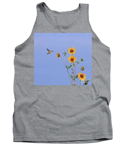 Summer Day Hummingbird Tank Top