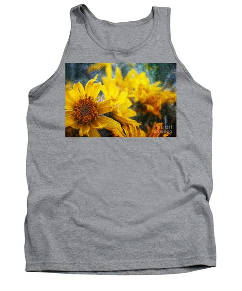 Sunflowers Tank Top by Alyce Taylor