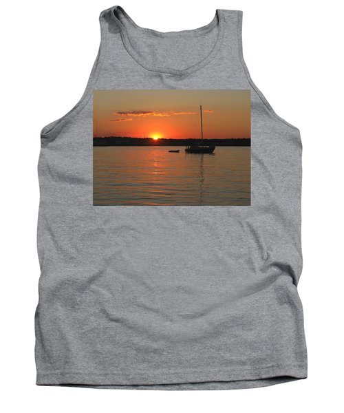 Tank Top featuring the photograph Sunset Cove by Clara Sue Beym