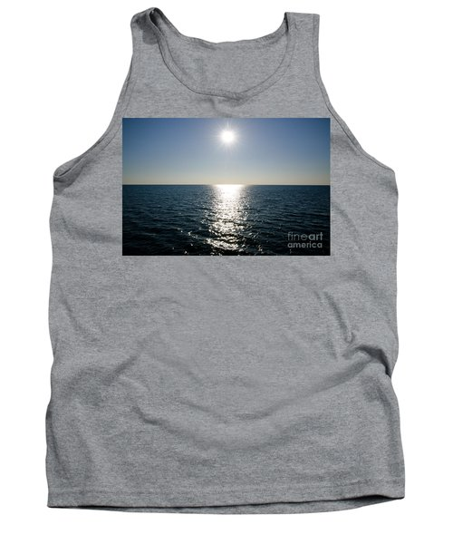 Sunshine Over The Mediterranean Sea Tank Top