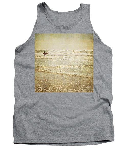 Surf The Sea And Sparkle Tank Top by Lyn Randle