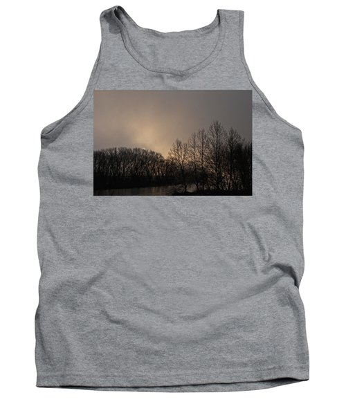 Susquehanna River Sunrise Tank Top