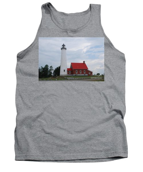 Tawas Point Lighthouse Tank Top