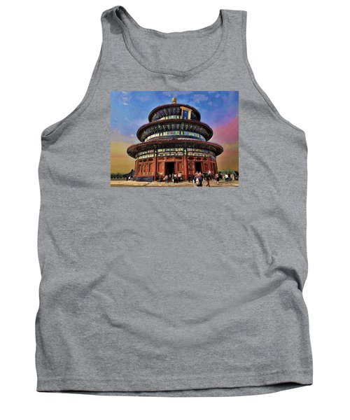 Temple Of Heaven - Beijing China Tank Top