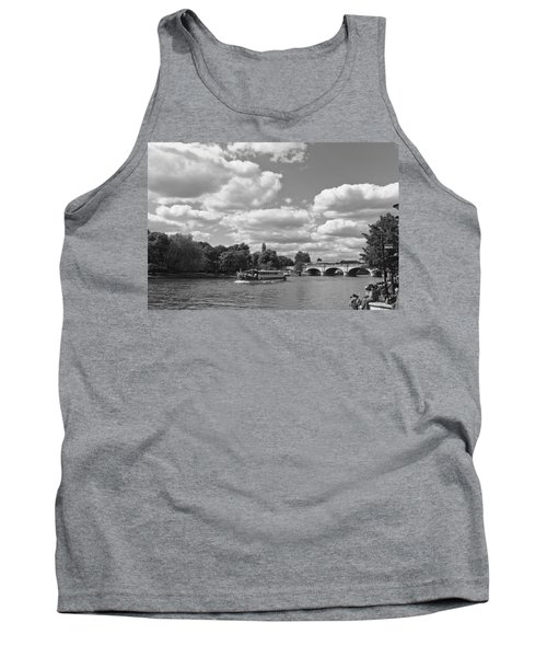 Tank Top featuring the photograph Thames River Cruise by Maj Seda