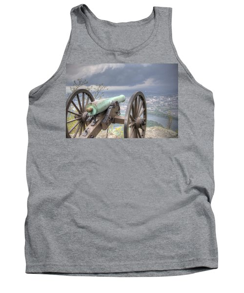The Battle Tank Top by David Troxel