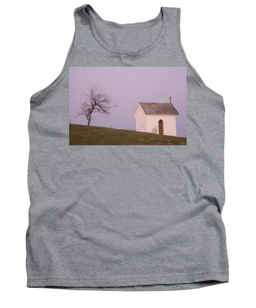 The Chapel On The Hill Tank Top