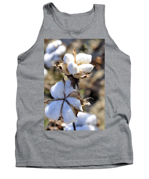 The Cotton Is Ready Tank Top by Jan Amiss Photography