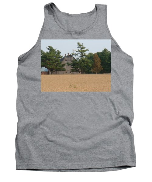 Tank Top featuring the photograph The Farm by Bonfire Photography