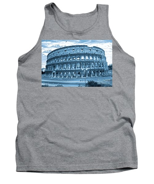 Tank Top featuring the photograph The Majestic Coliseum by Luciano Mortula